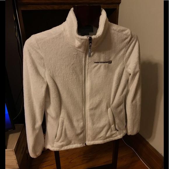 Free people fine fleece sweatshirt size M